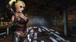 Batman-Arkham City Screen 012-Harley Quinn