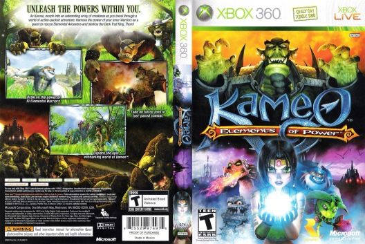Kameo Elements Of Power COVER