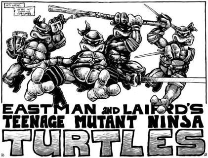 TMNT_Tortues_Ninja_Pages_2-3_comics_Mirage4